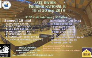 Tournoi National B 2018